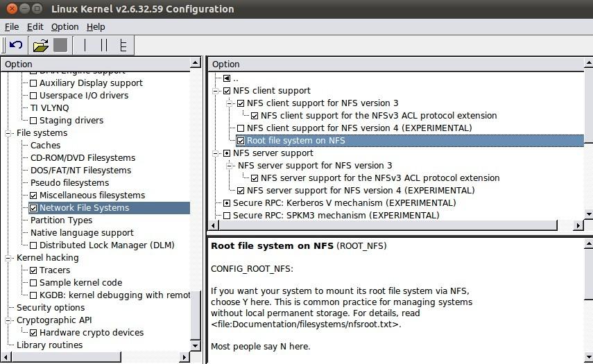 S3C2440挂载NFS根文件系统