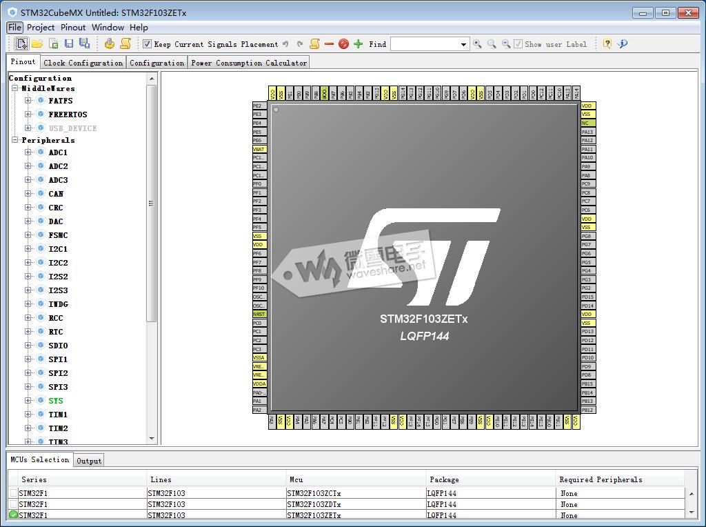 STM32CubeMx 针对407 discovery点亮LED灯
