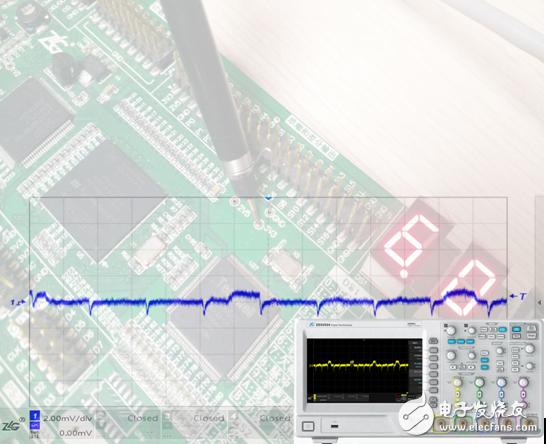 如何用示波器正确测量电源纹波