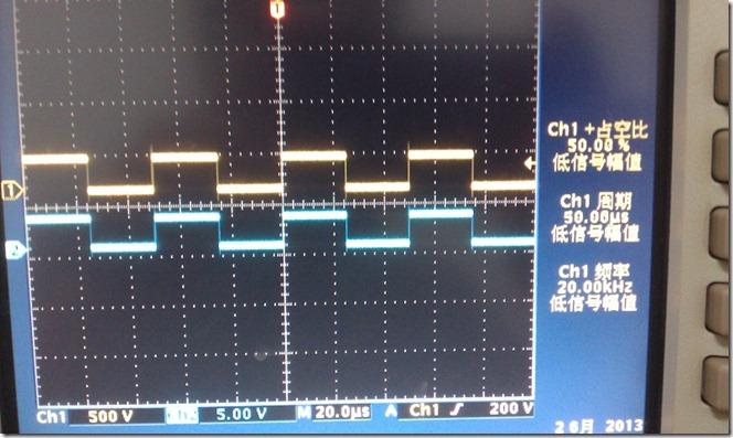 STM32F4 TIM1 7路PWM信号输出