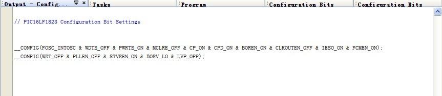 PIC单片机 的编译环境MPLAB的配置
