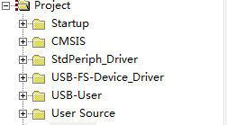 STM32 USB工程的文件分析