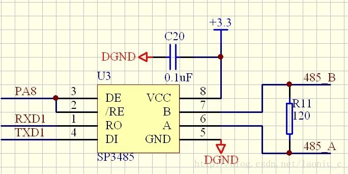 STM32调试485(sp3485)技术总结