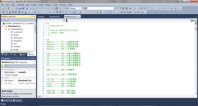 AVR单片机系列之-Atmega8A编程入门