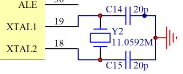 �纹��C最小系�y解析(�源、晶振和�臀浑�路)