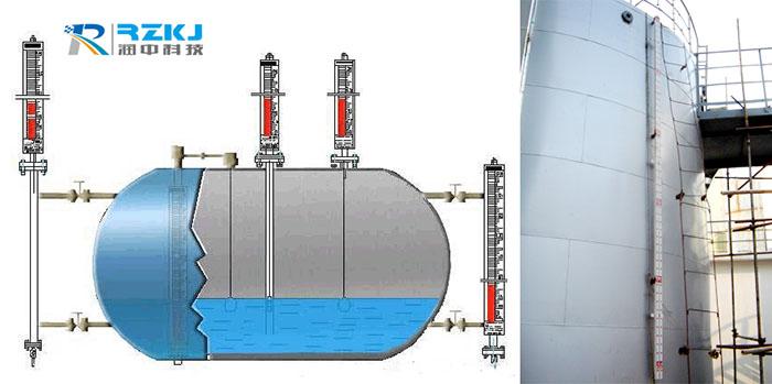 磁翻板液位计用于高液位罐体的安装技巧分析