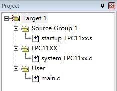 cortex m0 lpc1114 DATA寄存器