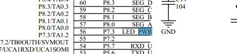 MSP430F5438点亮led