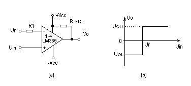 常见电压比较器电路图