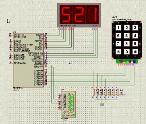 PIC单片机实例9:PC机与单片机串行全双工通信