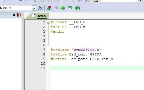 STM32 keil 添加.h文件方法