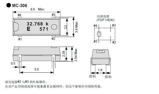 STM32 HSE LSE晶振官方推荐