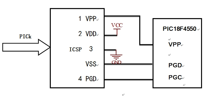 PIC数据采集系统接口设计和电路图