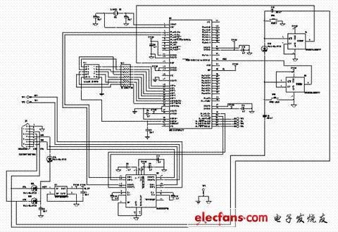 LCD人机交互的数据采集系统