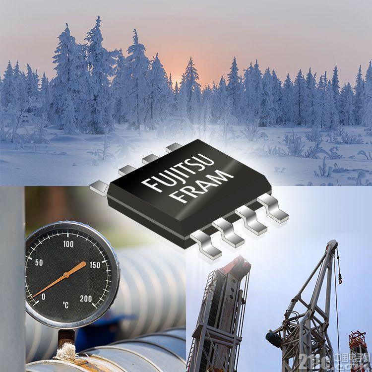 富士通推出-55℃操作运行的64-Kbit FRAM ,适用于在极寒环境中需维持高可靠性的产业机械应用