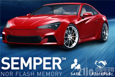 存储技术对汽车日益重要,赛普拉斯 Semper NOR闪存了解下