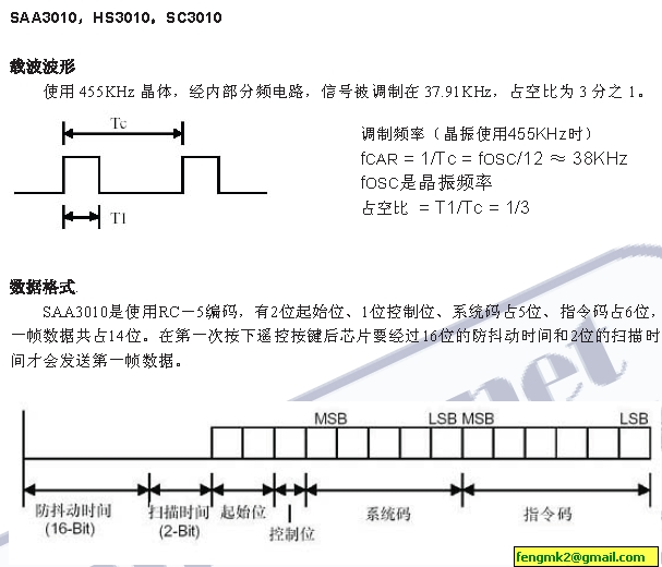 qy002千赢国际练习-RC-5红外遥控器程序及简单制造DIY PC遥控器