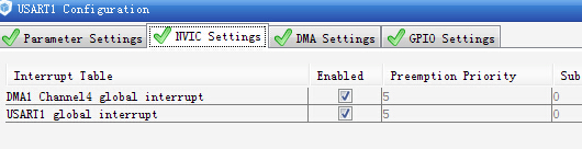 STM32L1XX使用HAL_UART_Transmit_DMA发送串口数据