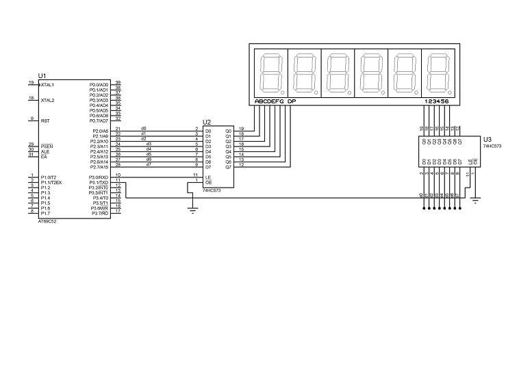 51proteus仿真:7段数码管显示小数