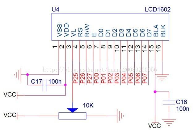 51单片机开发系列二_1602字符液晶显示