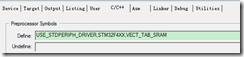 stm32f4 RAM中运行程序 读�;ど柚�