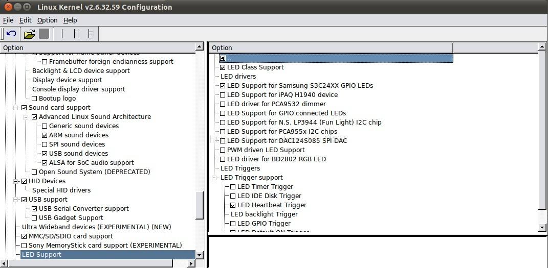 S3C2440 Linux驱动移植――LED heartbeat