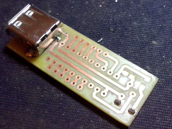 DS18B20制作的温度测量模块