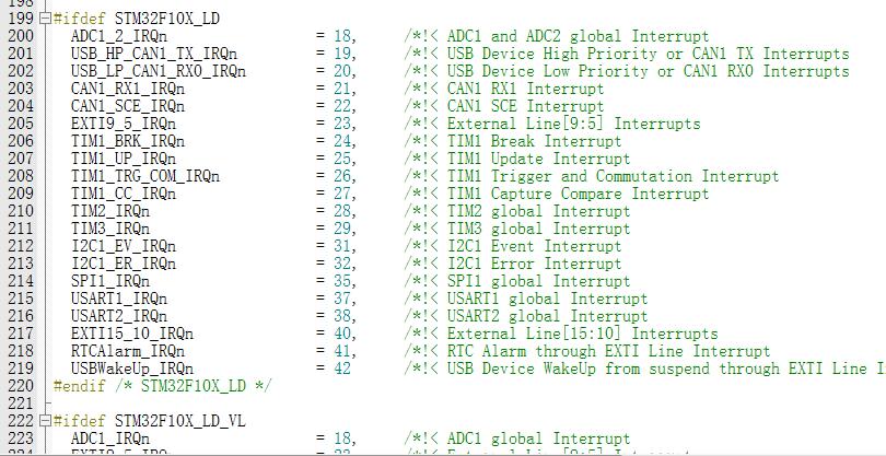 Keil宏定义和如何知道单片机资源名称