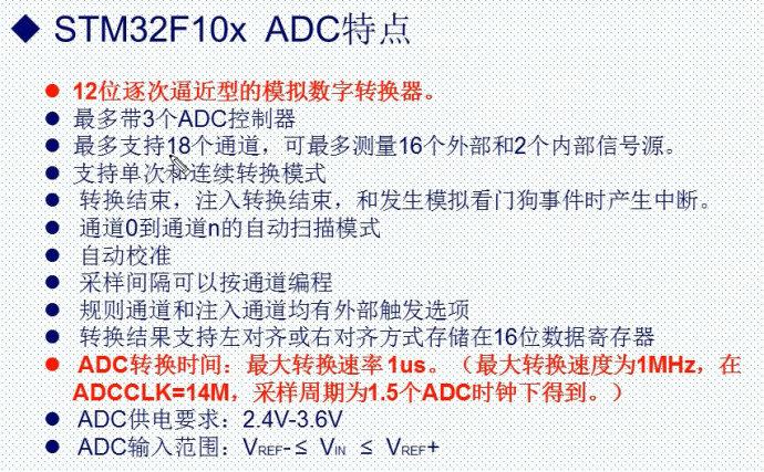 37.STM32ADC的基本原理