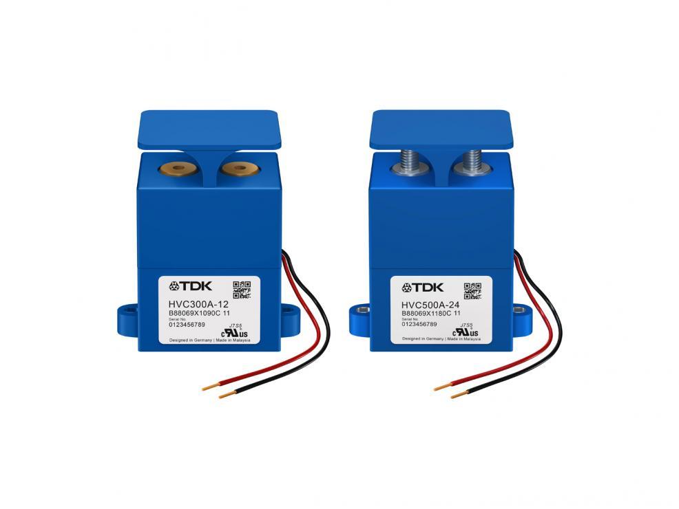 高压接触器:工作电流达500A的扩展产品系列