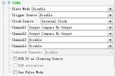stm32定时器之Output Compare