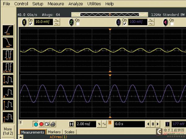 用示波器测量电源噪声的方法(2)