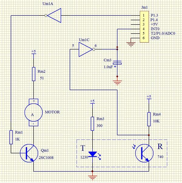 单片机与控制实验(3)――直流电机脉宽调制调速