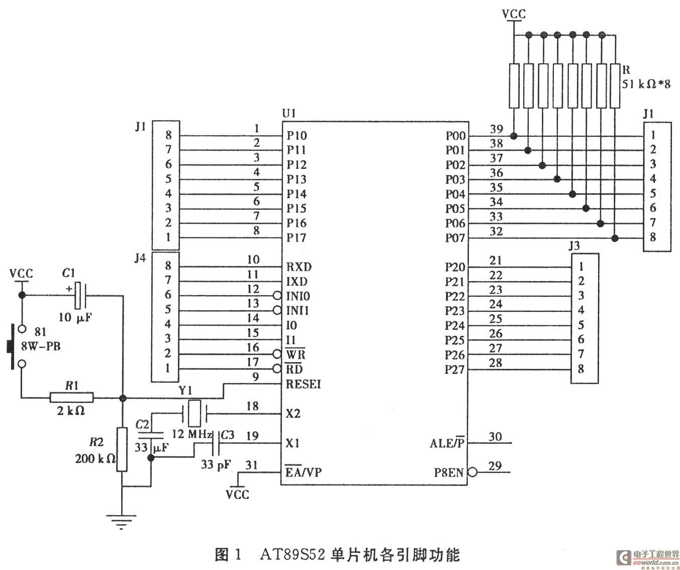基于 AT89S52 的温湿度检测系统的设计