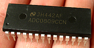 模�缔D�QIC ADC0809的使用制做之一……基�A知�R