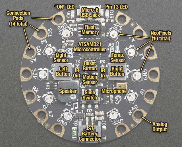 比第一代更完美,适用性更强――Circuit Playground Express评测