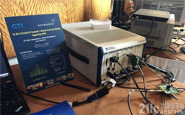 图1:NI与Skyworks在GTI Workshop上携手展示5G测试