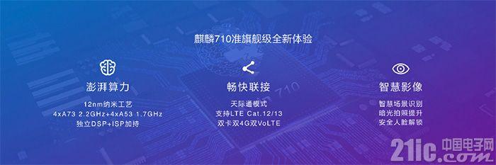 华为麒麟710跑分曝光:单核比前代提升70%,与骁龙710仍有差距