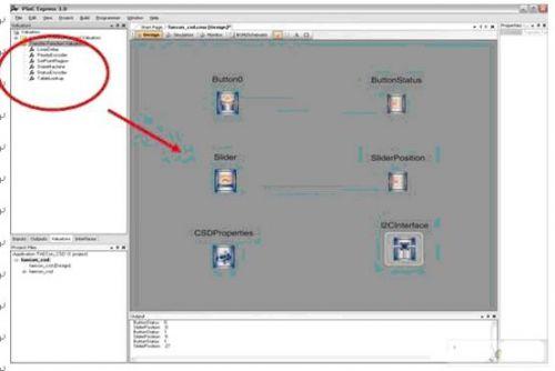 PSoC Express实施透明无代码PSoC应用开发