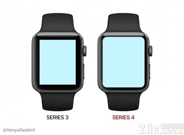新一代Apple Watch最新爆料:全面屏设计 屏幕面积陡增35%