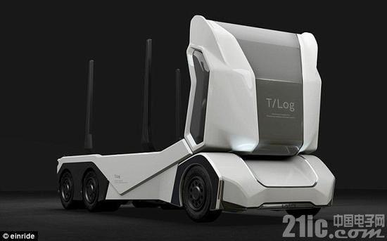 遥控汽车不都是玩具!可远程遥控的无人驾驶卡车来啦