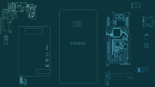 代号Exodus,HTC公布世界首款区块链手机