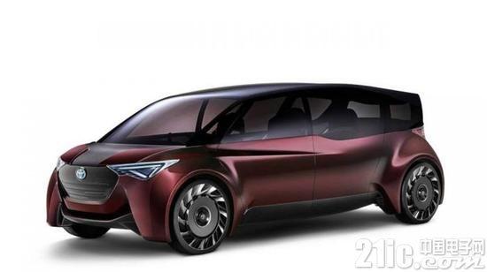 丰田汽车新专利 操作作手动曲柄为其自动驾驶电动车辆发电