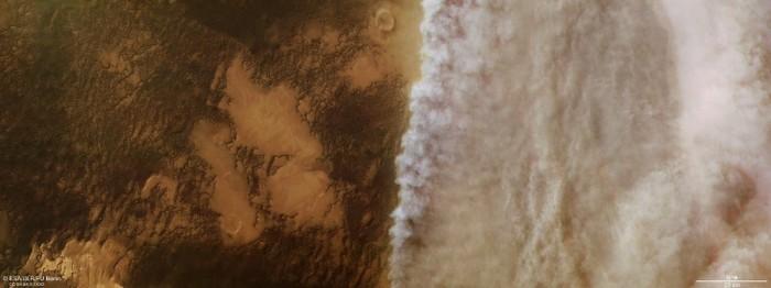 火星上也有沙城暴!NASA机遇号的太阳能电池板无法充电而失去联系...
