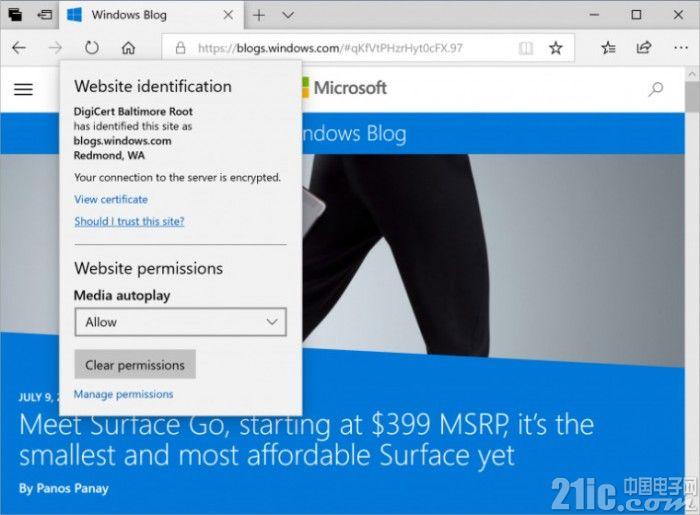Windows 10 Build 17713发布:引入大量新功能 远程桌面支持生物识别验证