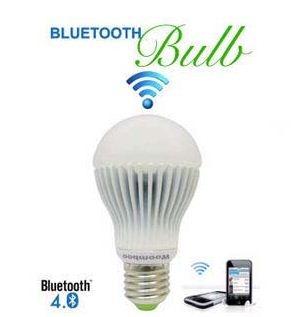 牛人自制蓝牙遥控灯泡 一部手机控制整个房间