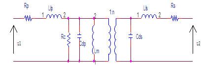 EPC高频变压器分布参数及其影响的分析