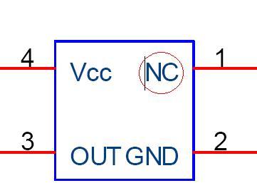 有源晶振引脚图,有源晶振引脚定义