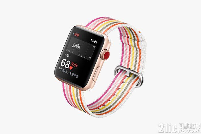 苹果第二季度出货350万块Apple Watch