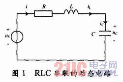 Simulink在RLC串联的动态电路分析中的应用